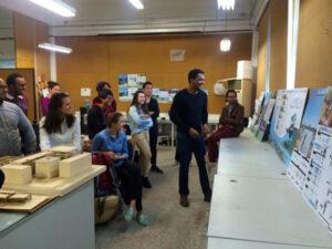 Estudantes brasileiros apresentam projetos em universidade chinesa. Foto: Acervo Pessoal