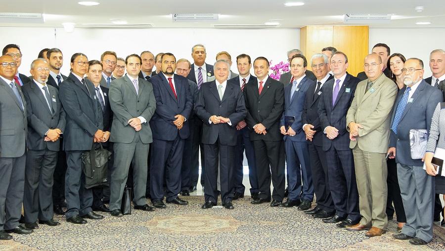 Brasília - DF, 16/06/2016. Presidente em Exercício Michel Temer durante encontro com Juristas Religiosos. Foto: Beto Barata/PR